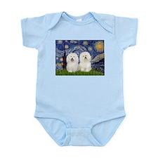 Starry Night / 2 Bolognese Infant Bodysuit