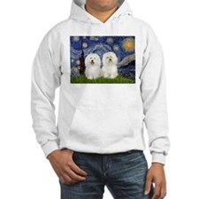 Starry Night / 2 Bolognese Hoodie