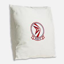 rvah12.png Burlap Throw Pillow