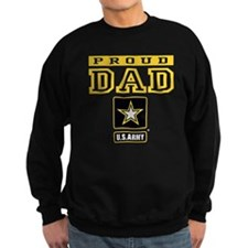 Proud Dad U.S. Army Sweatshirt