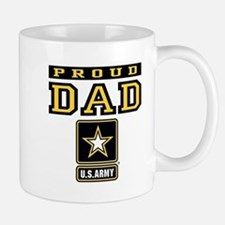 Proud Dad U.S. Army Small Small Mug