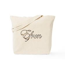 Gold Efren Tote Bag