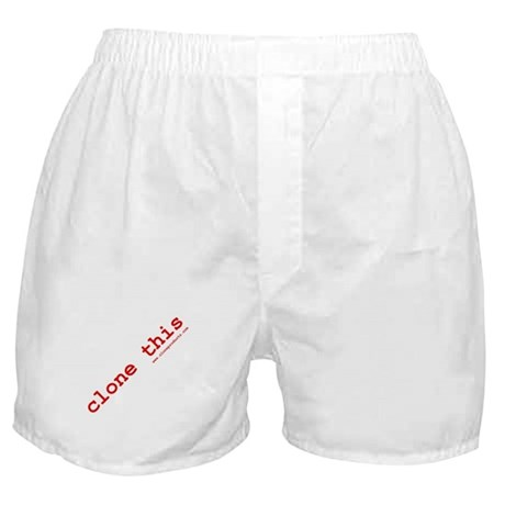clone this! boxer shorts