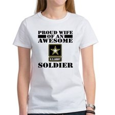 Proud U.S. Army Wife Tee
