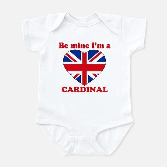 Cardinal, Valentine's Day Infant Bodysuit