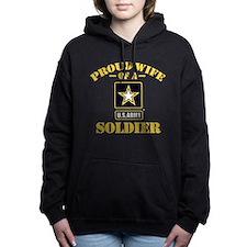 Proud U.S. Army Wife Hooded Sweatshirt