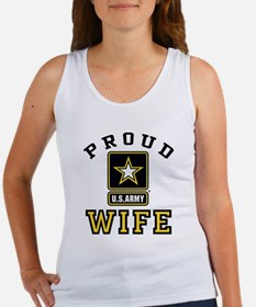Proud U.S. Army Wife Women's Tank Top