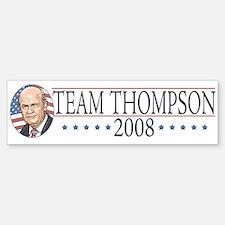 Team Thompson 2008 Bumper Bumper Bumper Sticker
