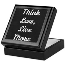 Live More Quote Keepsake Box