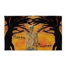 Halloween Skeleton 3'x5' Area Rug