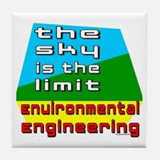 Environmental Engineering Tile Coaster