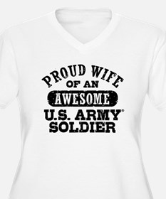 Proud U.S. Army W T-Shirt