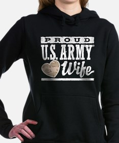 Proud U.S. Army Wife Hooded Sweatshirt