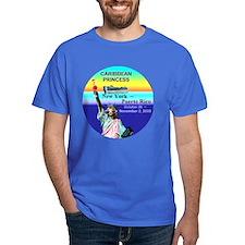 Caribbean Princess NY - Puerto Rico 10-26-08 T-Shirt