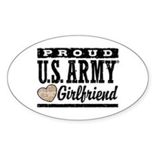 Proud U.S. Army Girlfriend Decal