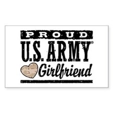 Proud U.S. Army Girlfriend Decal