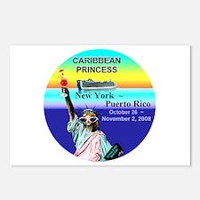 Caribbean Princess NY - Puerto Rico 10-26-08 Postc