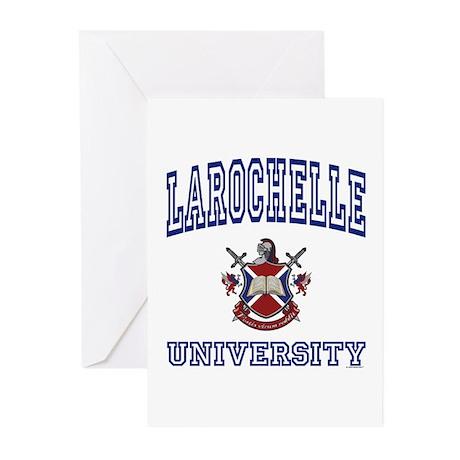 LAROCHELLE University Greeting Cards (Pk of 10