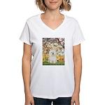 Spring / Bolgonese Women's V-Neck T-Shirt
