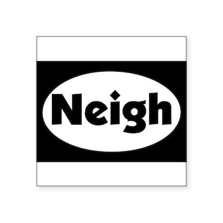 stick neigh Sticker