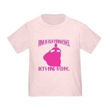 Pink Princesses Find a Cure T