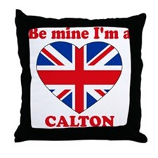 Calton, Valentine's Day Throw Pillow