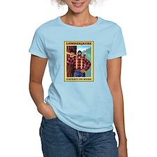 Lumberjacks  Women's Pink T-Shirt