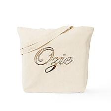Gold Ozie Tote Bag