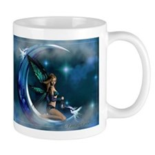 Fairy Angel Moon Butterfly Wings Mugs