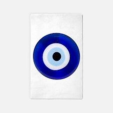 Nazar Amulet Evil Eye Protection 3'x5' Area Rug