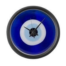 Nazar Amulet Evil Eye Protection Large Wall Clock