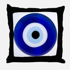Nazar Amulet Evil Eye Protection Throw Pillow