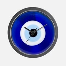Nazar Amulet Evil Eye Protection Wall Clock