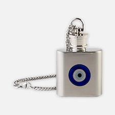 Nazar Amulet Evil Eye Protection Flask Necklace