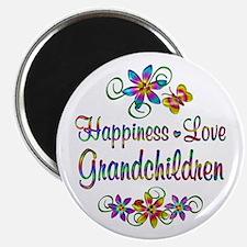 """Grandchildren Love 2.25"""" Magnet (10 pack)"""