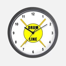 Drum Line Wall Clock