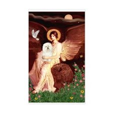 Seated Angel & Bolognese Decal