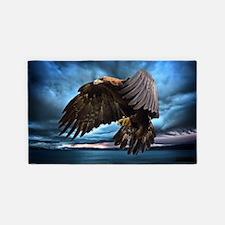 Eagle In Flight 3'x5' Area Rug
