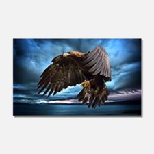 Eagle in Flight Car Magnet 20 x 12