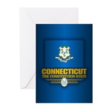 Connecticut (v15) Greeting Cards