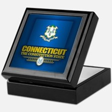 Connecticut (v15) Keepsake Box