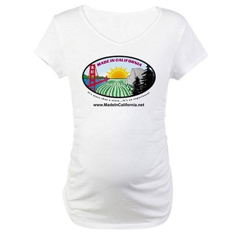 Made in California's Maternity T-Shirt