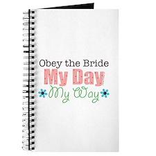 Obey Bride Wedding Journal