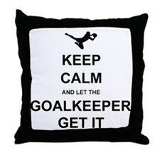 Let Keeper get it Throw Pillow