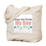 Obey Bride Wedding Tote Bag