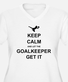 Let Keeper g Plus Size T-Shirt