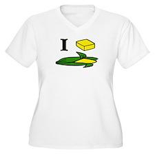 I butter corn Plus Size T-Shirt