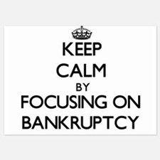 Keep Calm by focusing on Bankruptcy Invitations