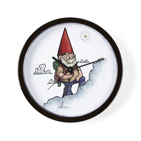 Mountain Gnome Wall Clock
