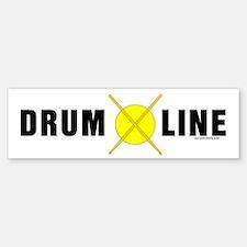 Drum Line Bumper Bumper Bumper Sticker